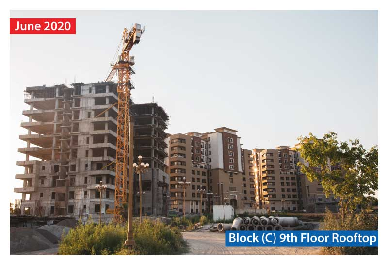 Zarkon Heights Residential Luxury Apartments Construction Update Website Images - FAH33M (1)