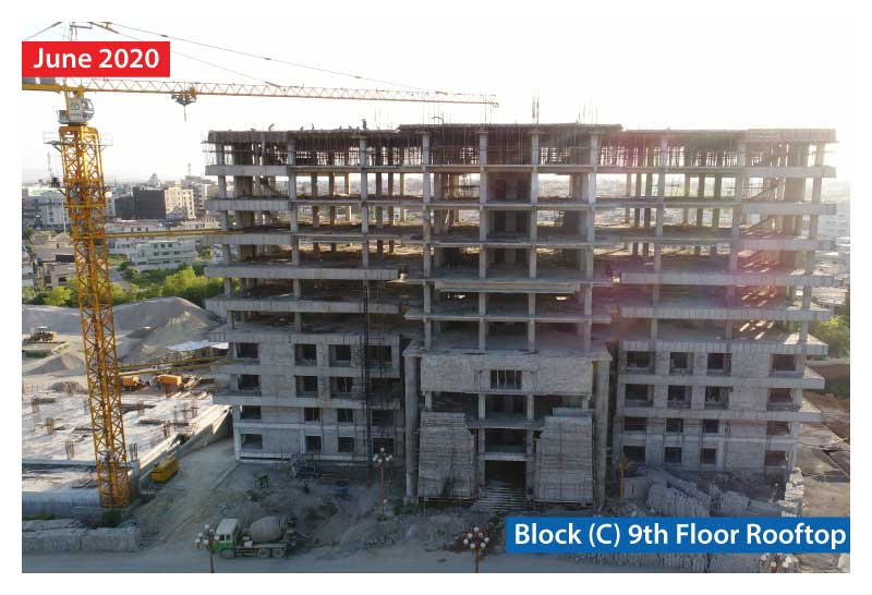 Zarkon Heights Residential Luxury Apartments Construction Update Website Images - FAH33M (4)