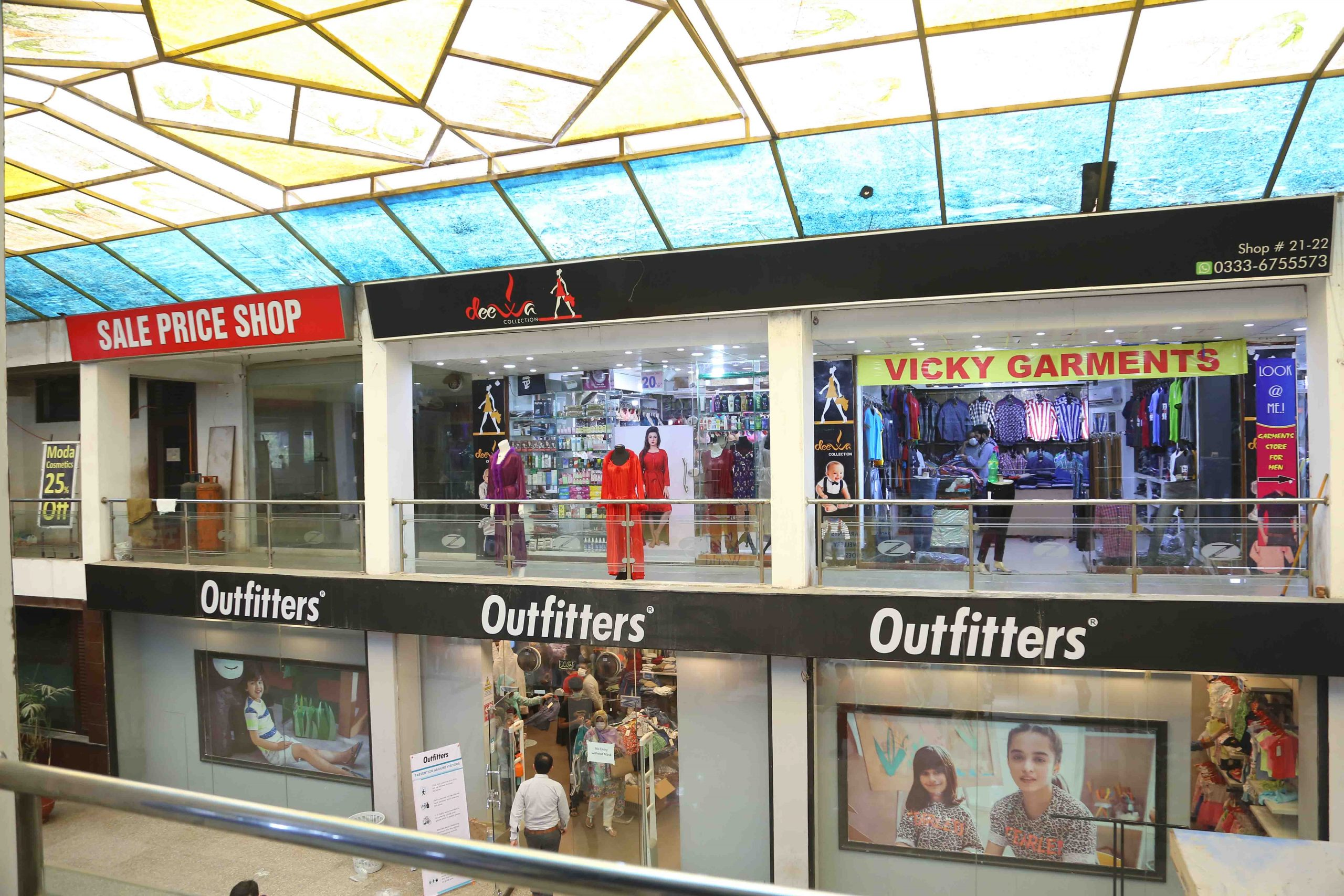 Zarkon Plaza 1 Saddar Rawalpindi Interior Views - FAH33M (6) - Q-L0-BO